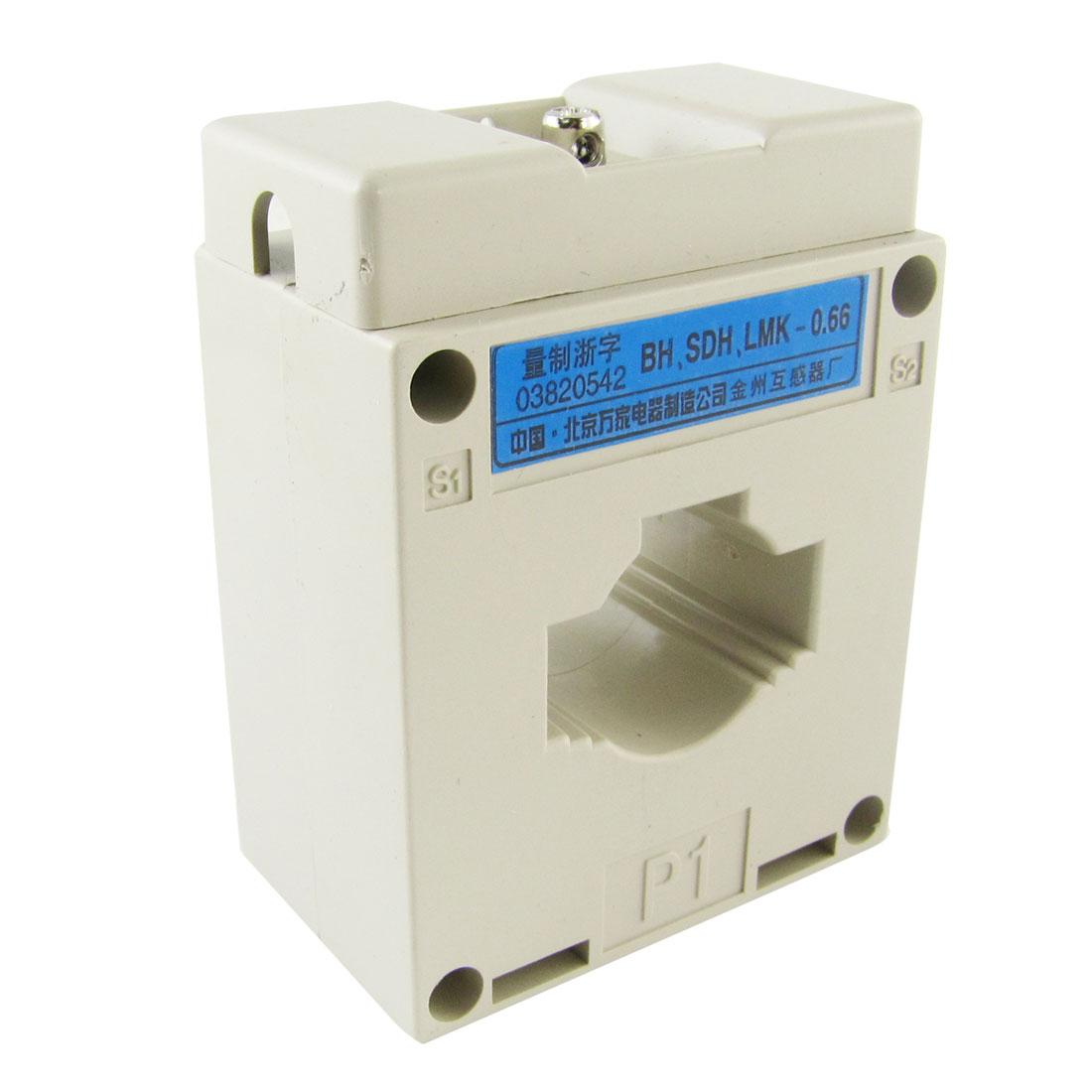 50A Primary 5A Secondary 50/5 Ratio Current Transformer 0.66KV