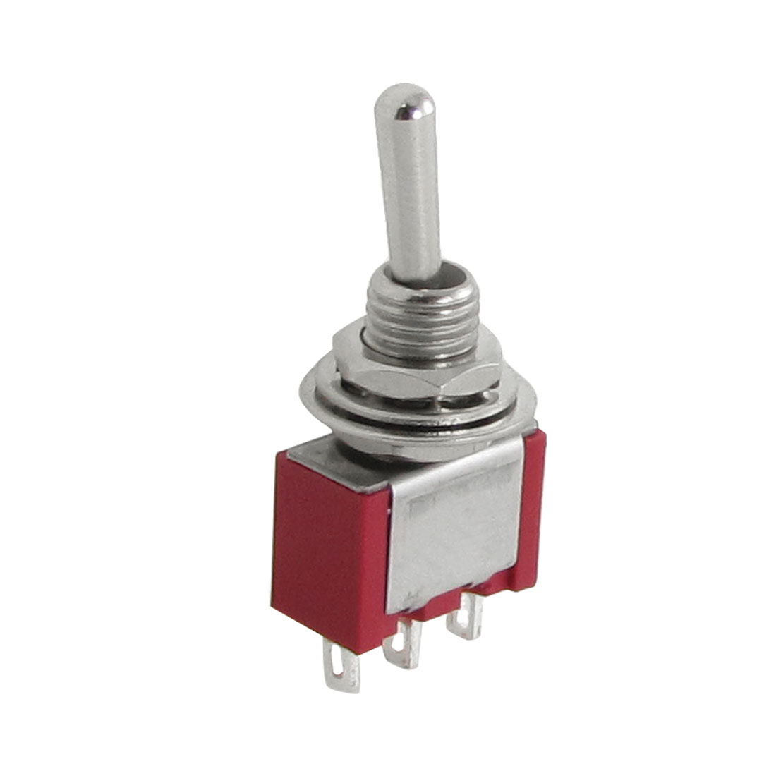 1P2T ON/OFF/ON 3 Position Toggle Switch 2A/250VAC 5A/120VAC 10 Pcs
