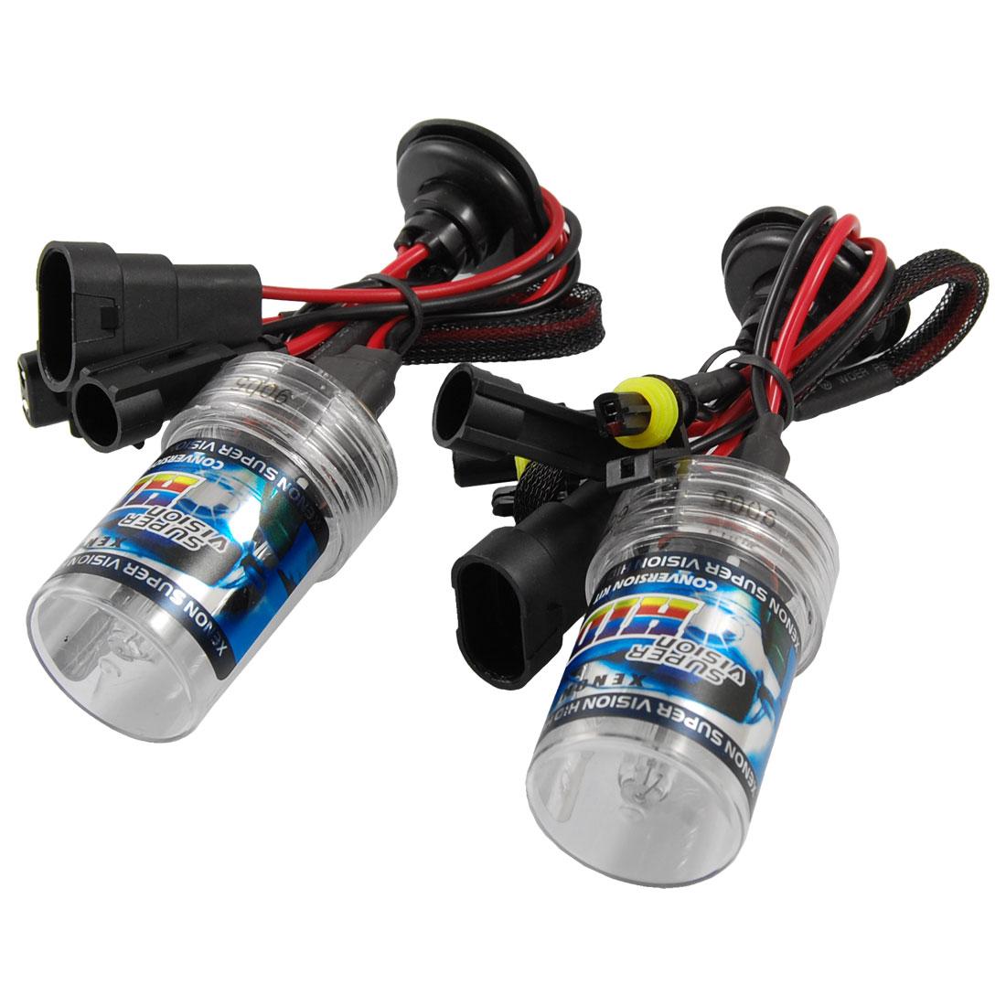 Car Head Lamp HID Xenon 9005 6000K 35W Headlight Slim Ballast Kit