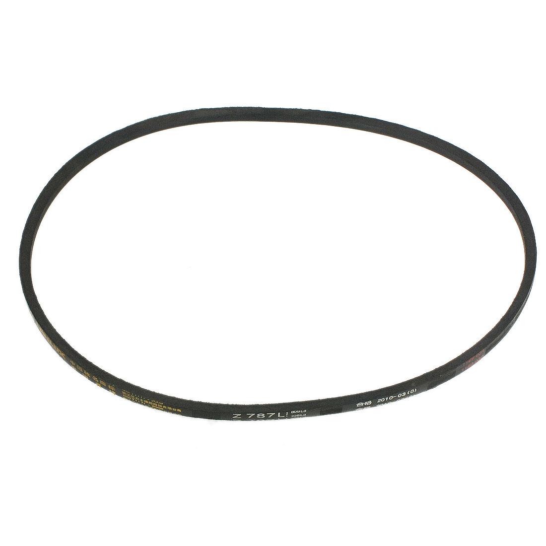 Inner Girth 787mm Black Rubber Z Type Wedge Rope Vee Belt