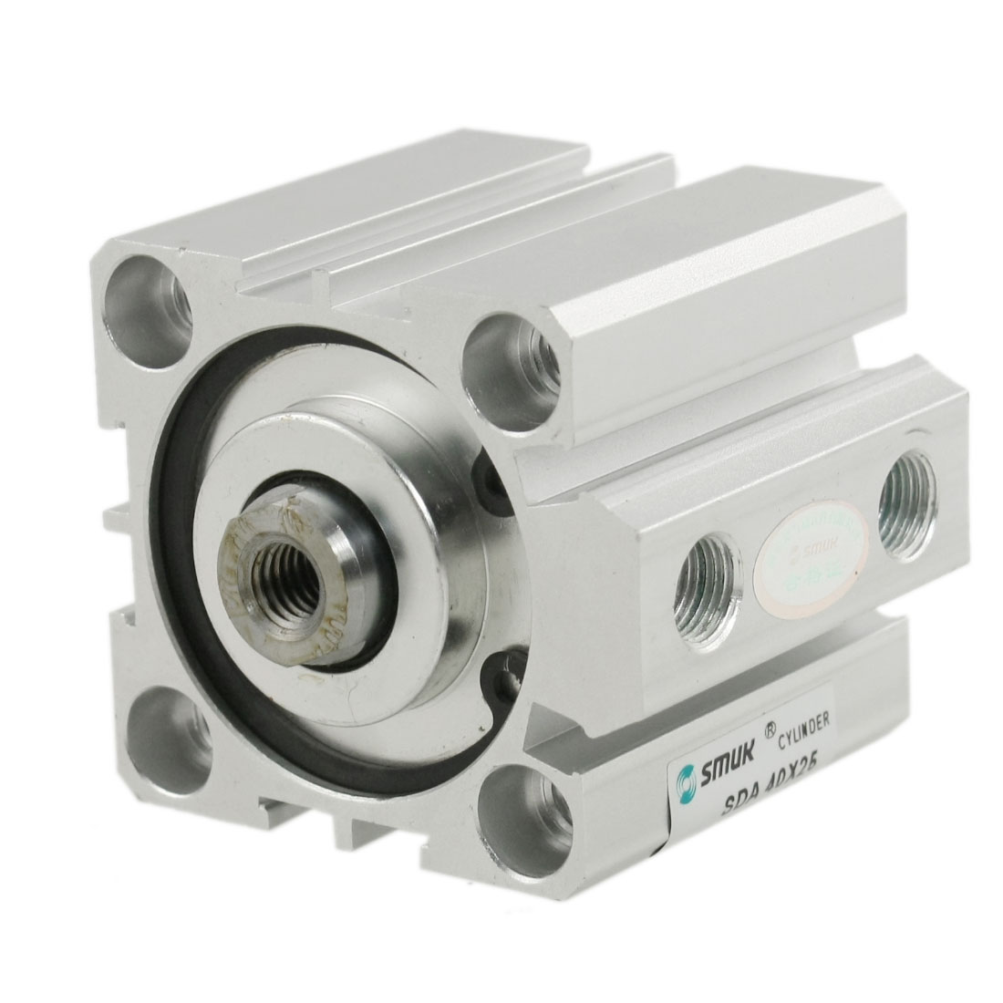SDA Series 40x25mm 1.0Mpa Press Pneumatic Compact Thin Air Cylinder