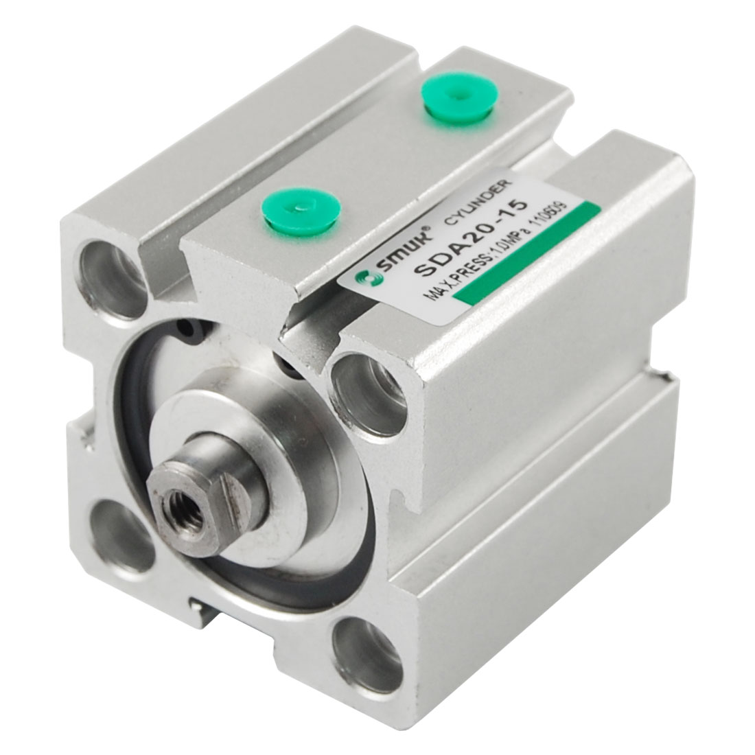 20mm Bore 15mm Stroke Compact Pneumatic Air Cylinder SDA
