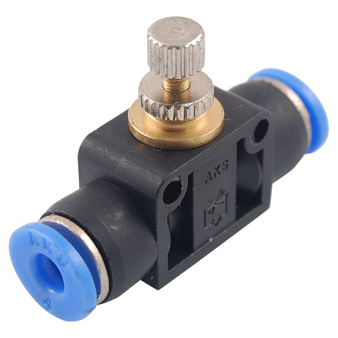 4mm to 4mm Push In Speed Controller Pneumatic Air Valve