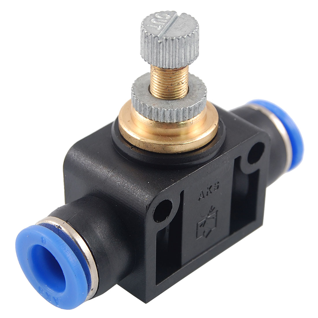 8mm to 8mm Push In Speed Controller Pneumatic Air Valve