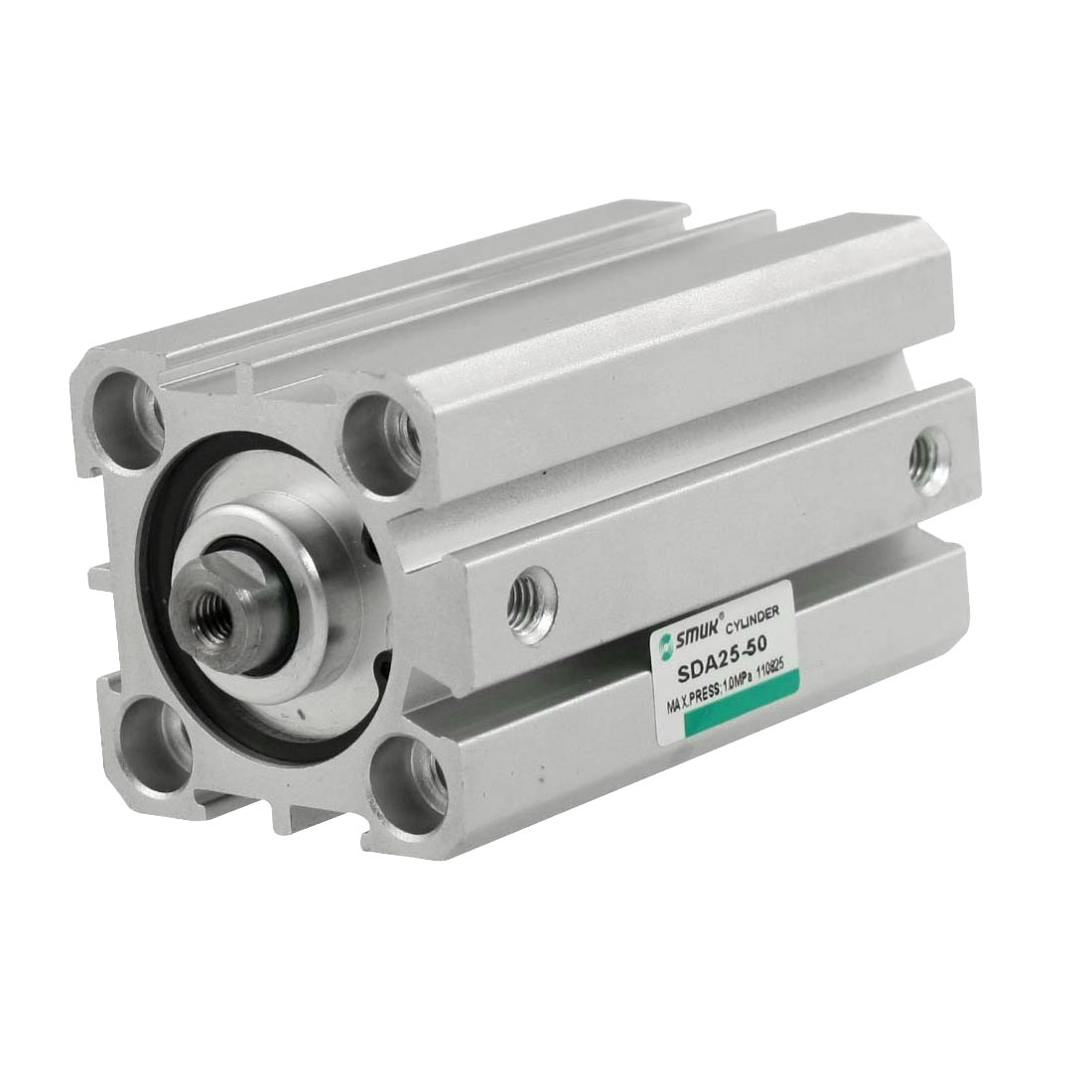 SDA25-50 25mm Bore 50mm Stroke Thin Type Compact Air Cylinder
