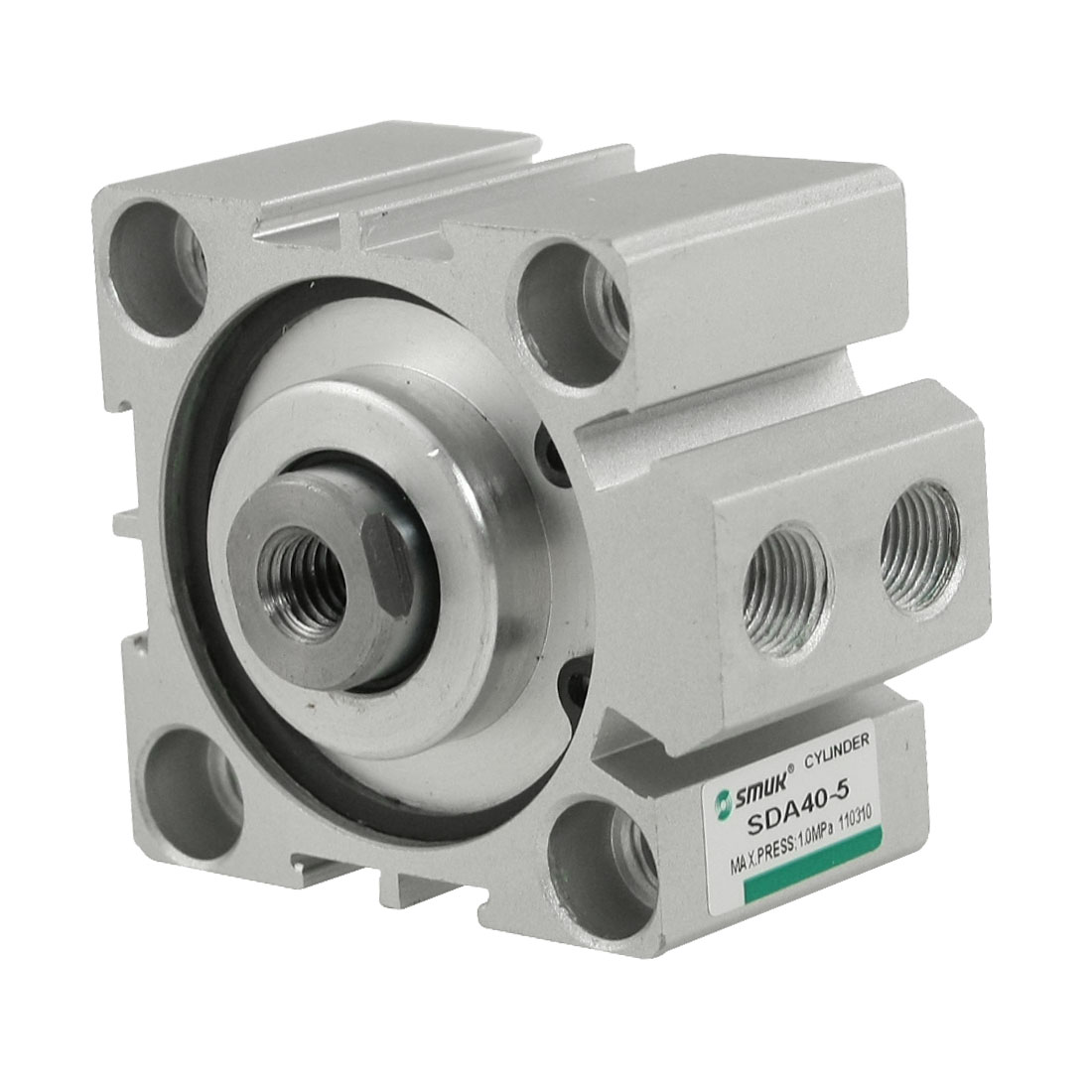 SDA Series 40x5mm 1.0Mpa Press Pneumatic Compact Thin Air Cylinder