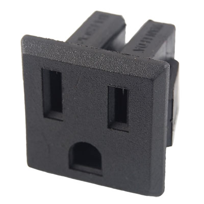 AC 250V 15A 3 Terminals US Type Plug Outlet Power Socket
