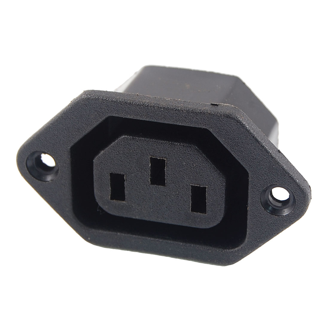AC 250V 10A 3 Terminals C13 Outlet Power Socket Connector