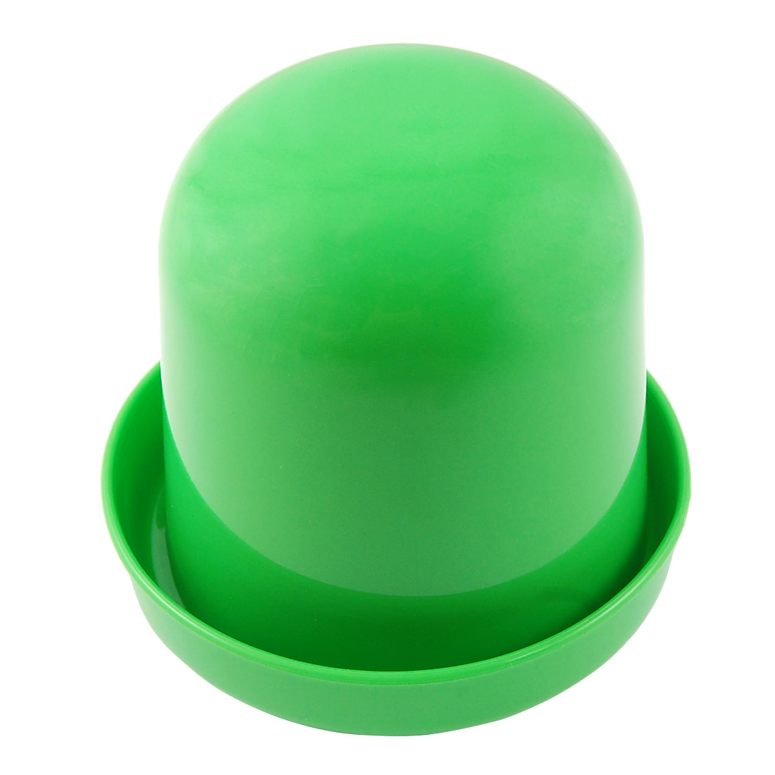 Bar Party Game Toy Green Plastic Dice Cup Shaker Holder Tray