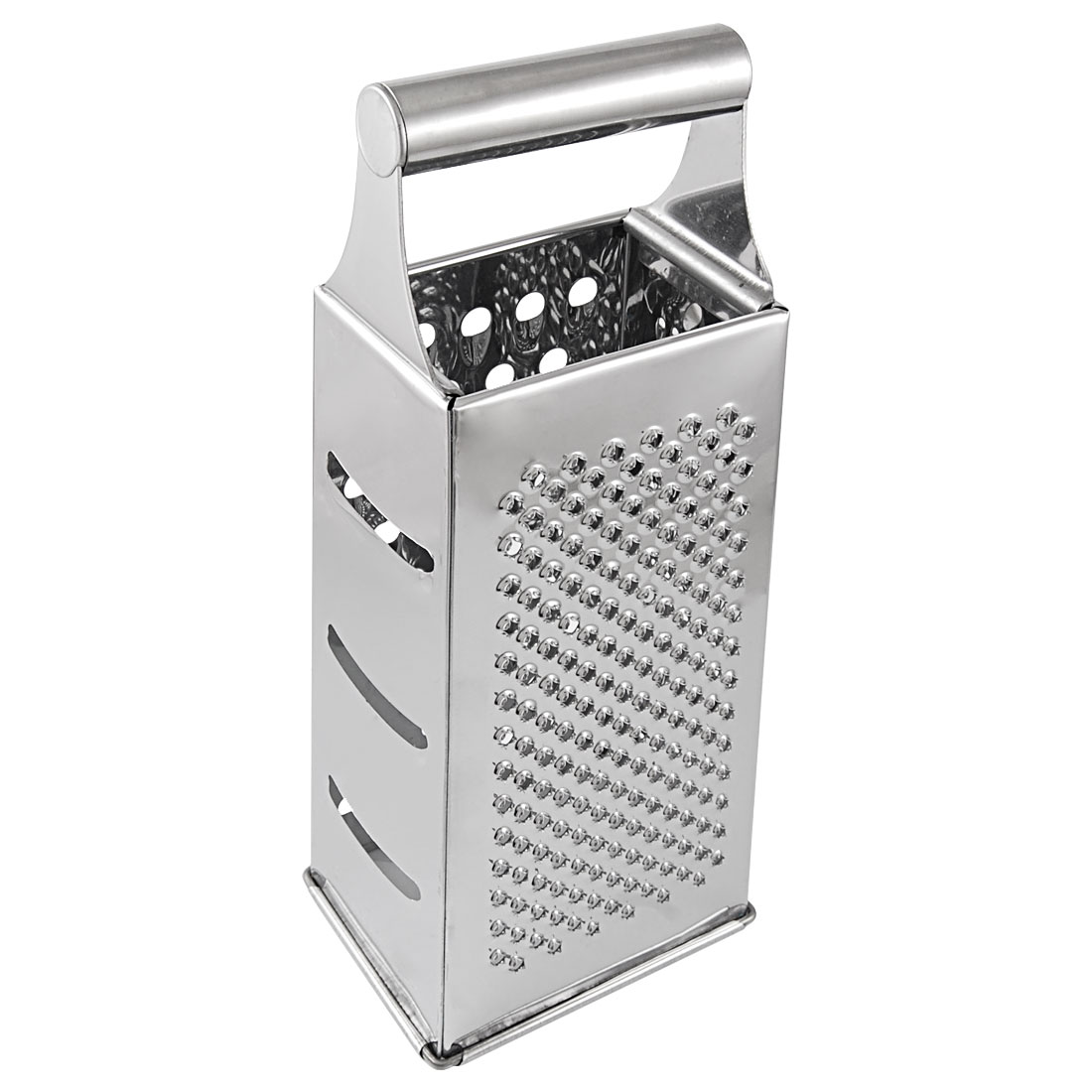 Cylinder Handle Stainless Steel Square 4 Sides Vegetable Carrot Grater