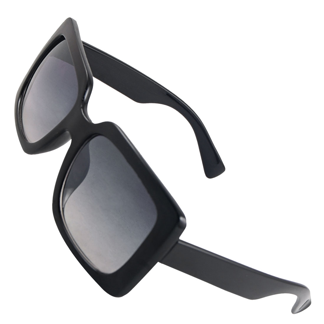 Ladies Black Plastic Full Rim Frame Outdoor Sunglasses