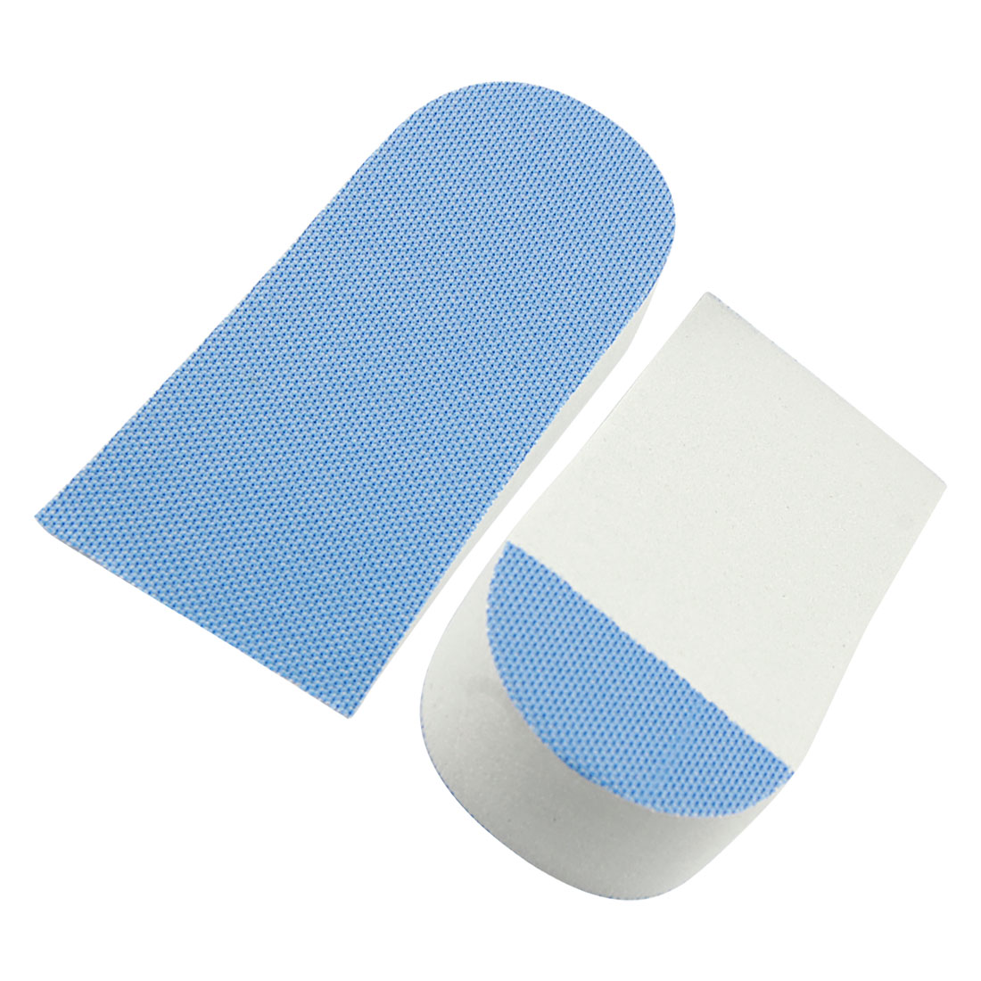 "0.9"" Up Blue Foam Shoes Insert Pads Heel Lift Height Increase Insole Pair"