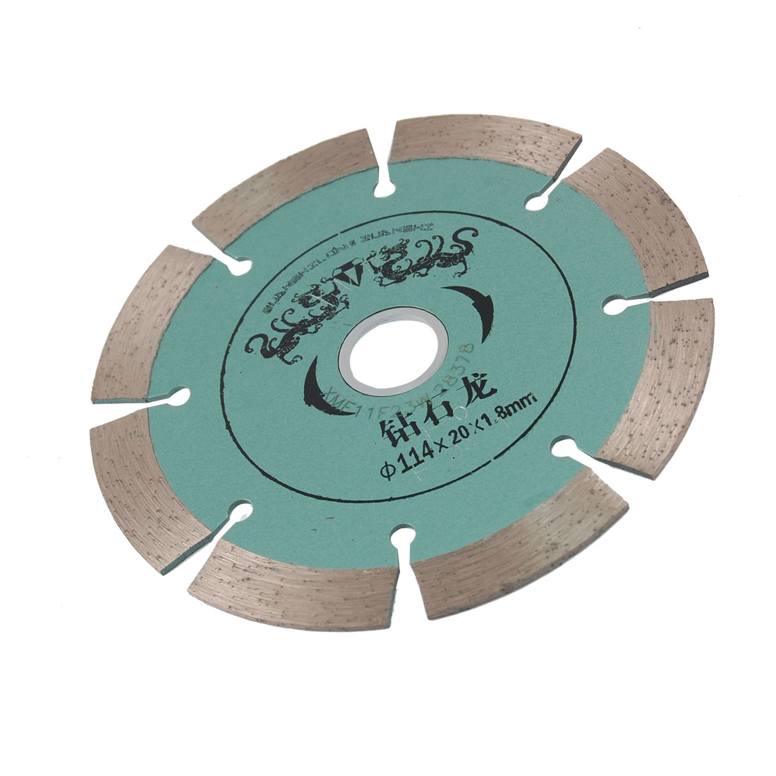 114mm x 20mm x 1.8mm Glass Marble Milling Cutter Diamond Saw Blade
