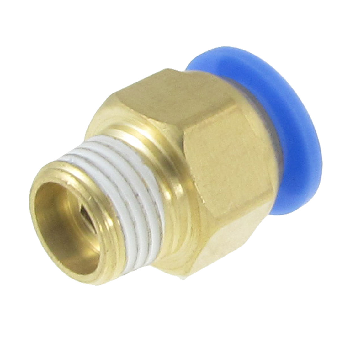 Pneumatic Air Tubing Push in 12mm Male Thread Connect Quick Fittings