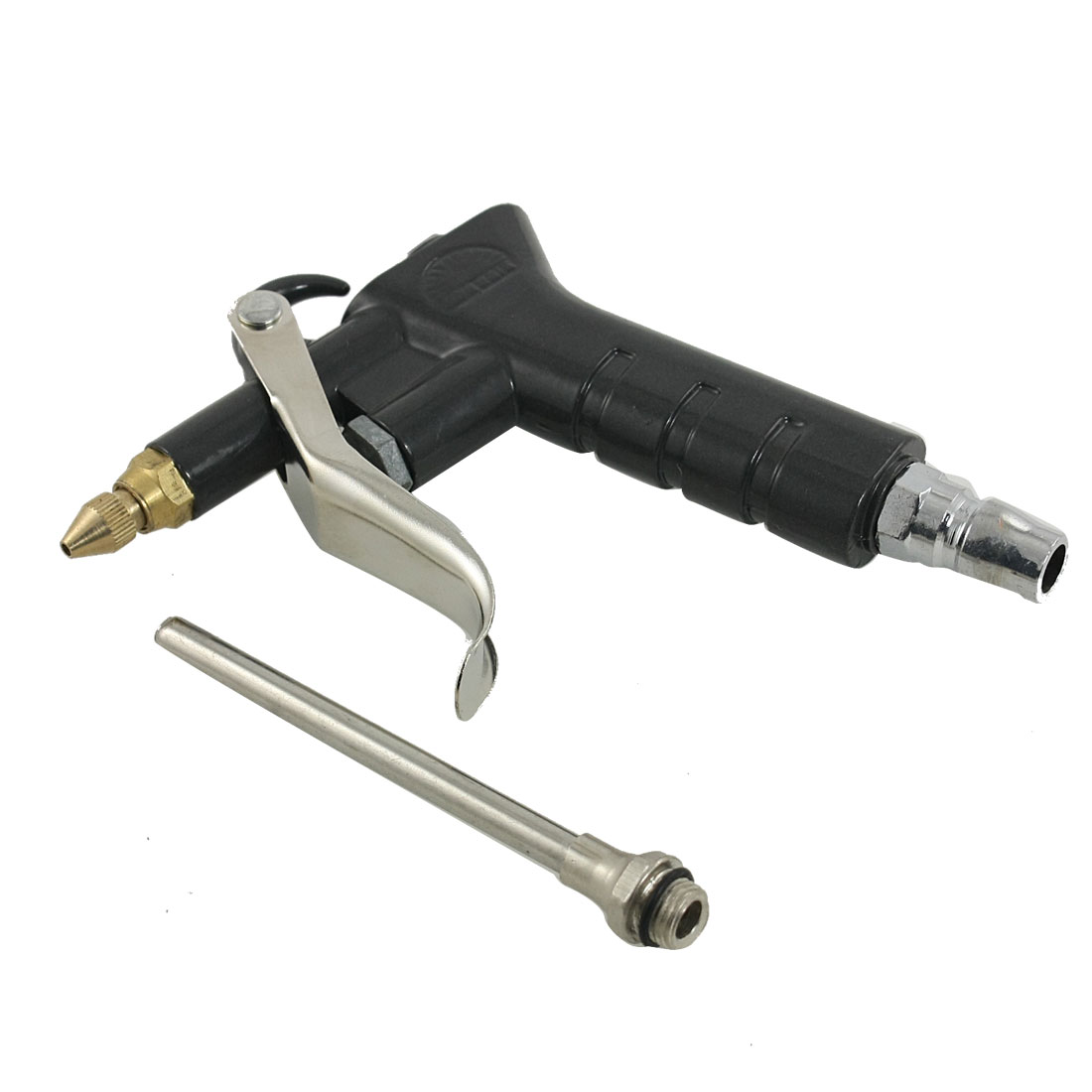 Black Metal Blowing Dust Cleaning Tool Trigger Air Duster Blower Gun