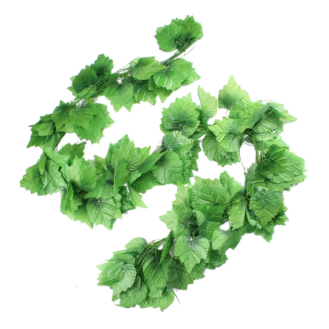 12 Pcs Home Decorative Green Artificial Grape Vine 7.5 Ft