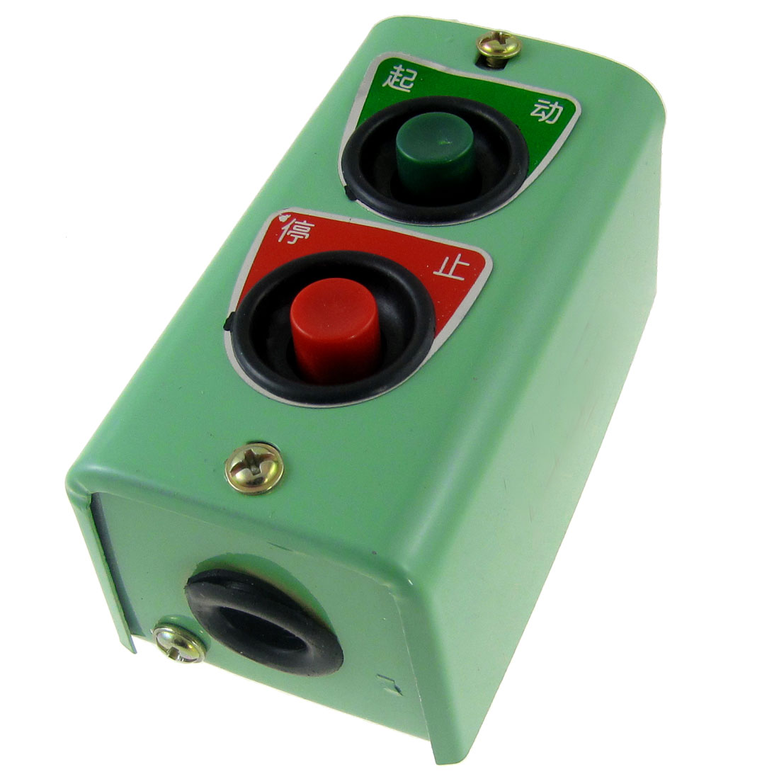 AC 220V 5A Momentary Push Button Switch Station Start Stop