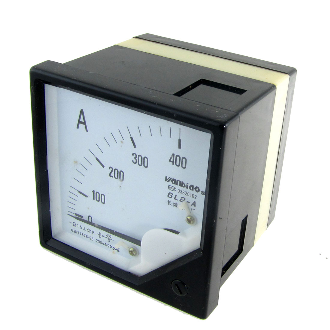 0-400A Analogue AC Ammeter Current Panel Meter 6L2-A
