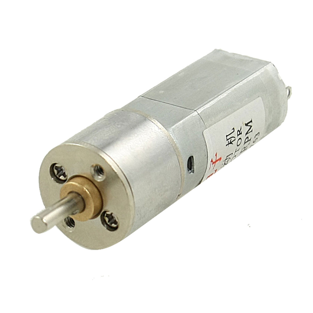 560RPM 0.55A 12V 3mm Shaft Dia Mini DC Geared Gear Box Motor