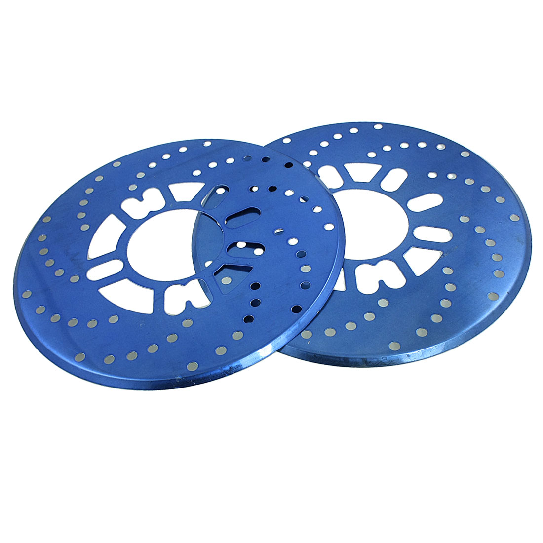 2 Pcs Auto Car Replacement Blue Aluminum Disc Brake Rotor Covers