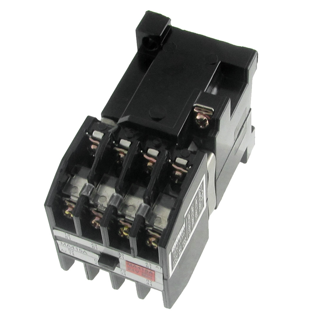 4Pole 4NO 4 NC Contactor Relay AC 24V Coil DIN Rail Mount