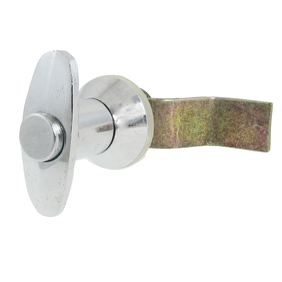 Push Button Rotate Metal Keyless Locking Lock for Cabinet