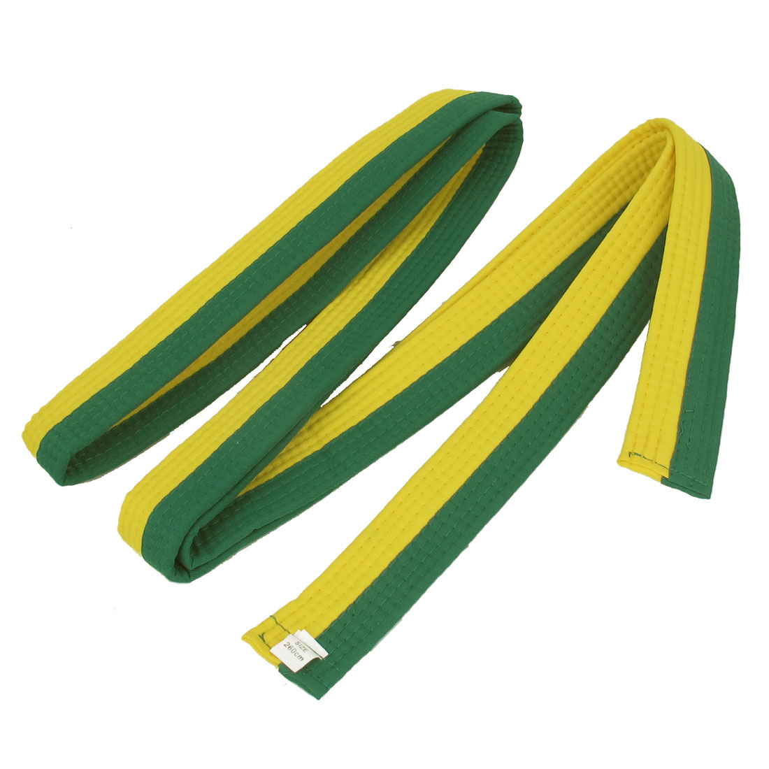 Green Yellow 8.4ft Length Martial Arts Karate Taekwondo Japenese Judo Belt