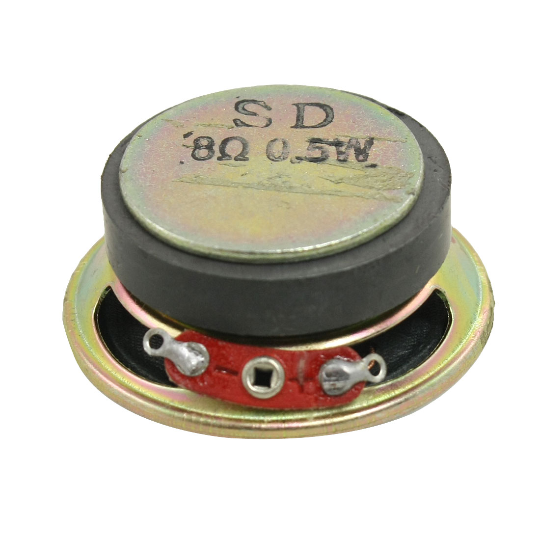 "1.6"" Dia. Round Shape External Magnet Speaker 8 Ohm 0.5W"