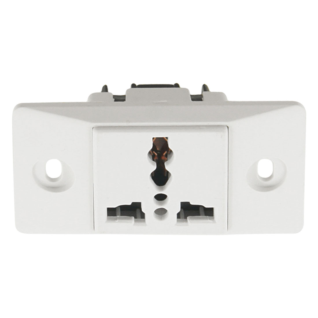 10A 250V Socket Outlet Wall Plate EU UK US Plug