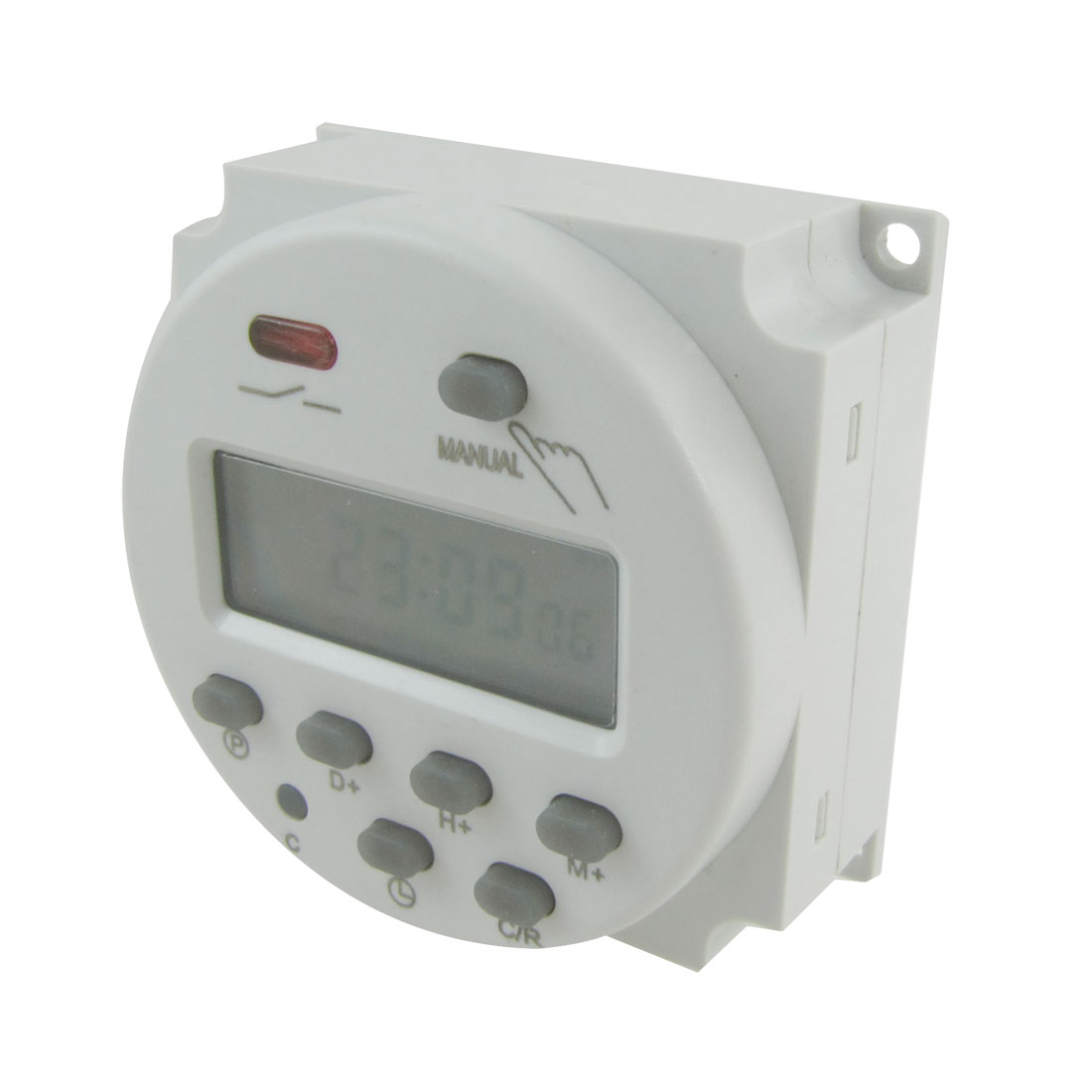 DC 12V Digital LCD Power Programmable Timer Time Switch Relay 10A
