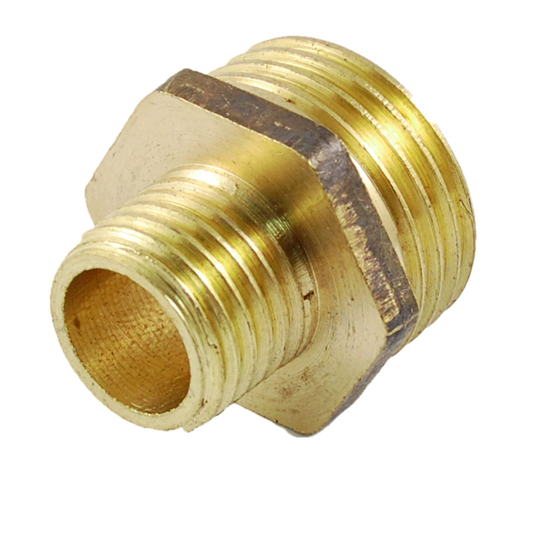 "1/2"" PT to 1/4"" PT Male Thread Brass Pipe Fitting Coupling Connector"