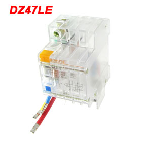 Transparent Three Poles 3P+N ELCB Earth Leakage Circuit Breaker