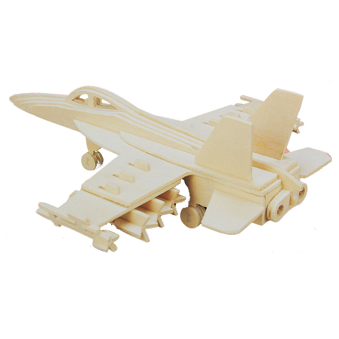 Woodecraft DIY Hornet Bomber Model Wooden Construction Kit Puzzle Toy
