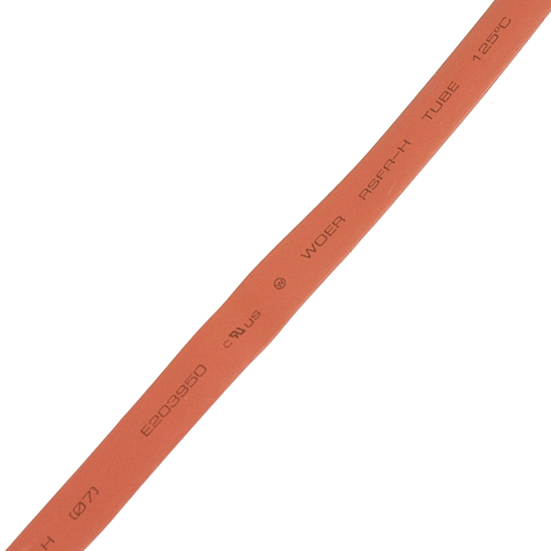 7mm Red Heat Shrinkable Tube Shrink Tubing 2m 6.6ft