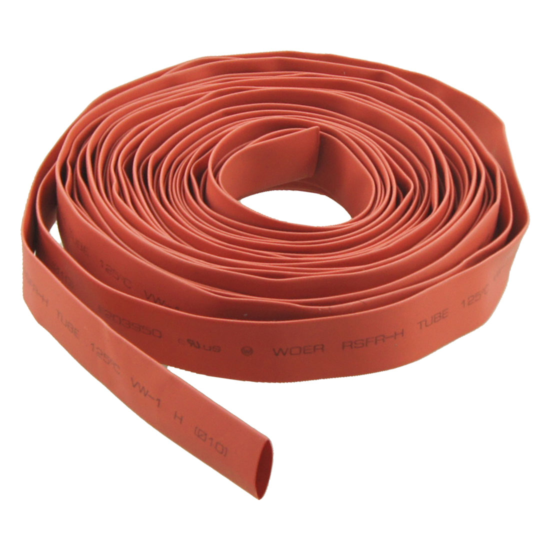 Ratio 2:1 10mm Dia. Red Heat Shrinkable Tube Shrinking Tubing 8M