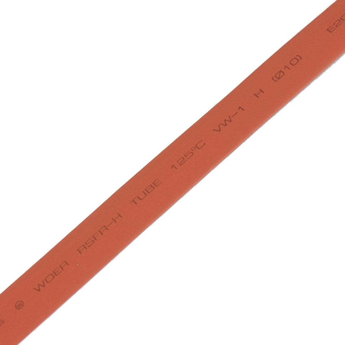 13.1 Ft 4M Long 10mm Dia. Red Polyolefin Heat Shrinkable Tube