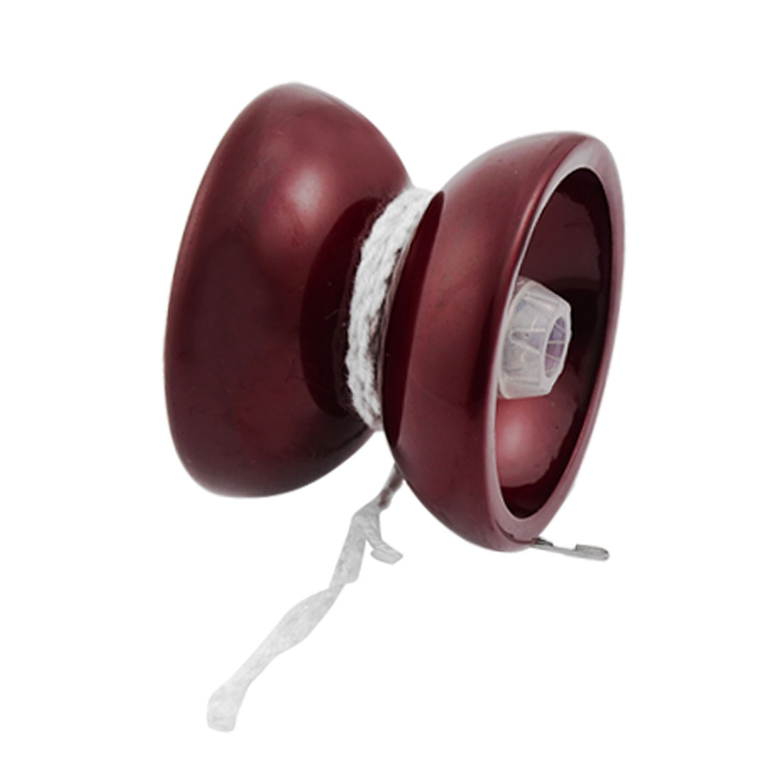 Burgundy Alloy Ball Bearing Yo Yo Ball Toy for Children