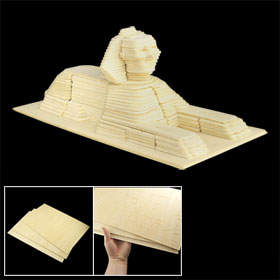 Assembly 3D The Sphinx Model Construction Kit DIY Puzzle Educational Toy