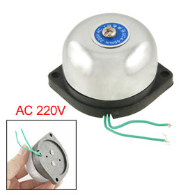 "2 1/6"" 55mm Diameter Fire Alarm Gong Electric Bell AC 220V"
