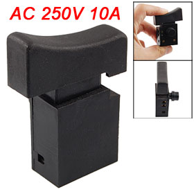 AC 250V 10A DPST Electric Saw Tool Power Trigger Switch