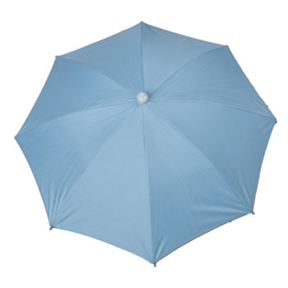 Metal Frame Hands Free Baby Blue Foldable Fishing Umbrella Hat