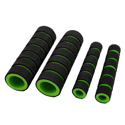 Nonslip Soft Foam Bike Bicycle Handle Bar Grips Cover 2 Pairs