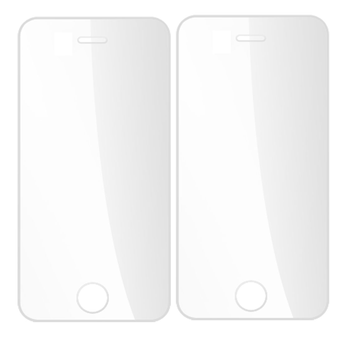 2 Pcs Clear Anti Dust LCD Screen Protectors for Apple iPhone 4 4G 4GS