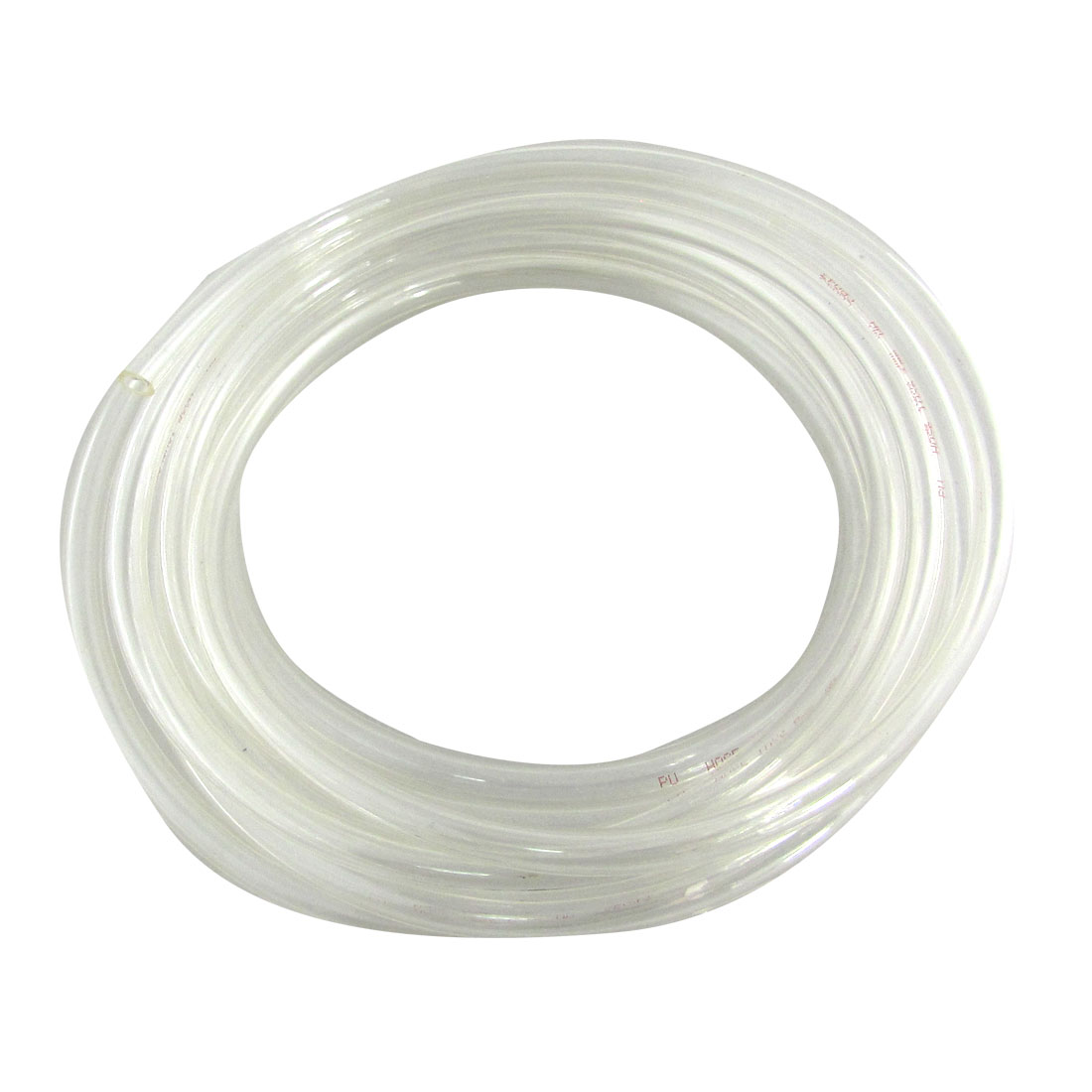 4M 13.1Ft 10mm x 6.5mm Pneumatic Air PU Hose Pipe Tube Clear