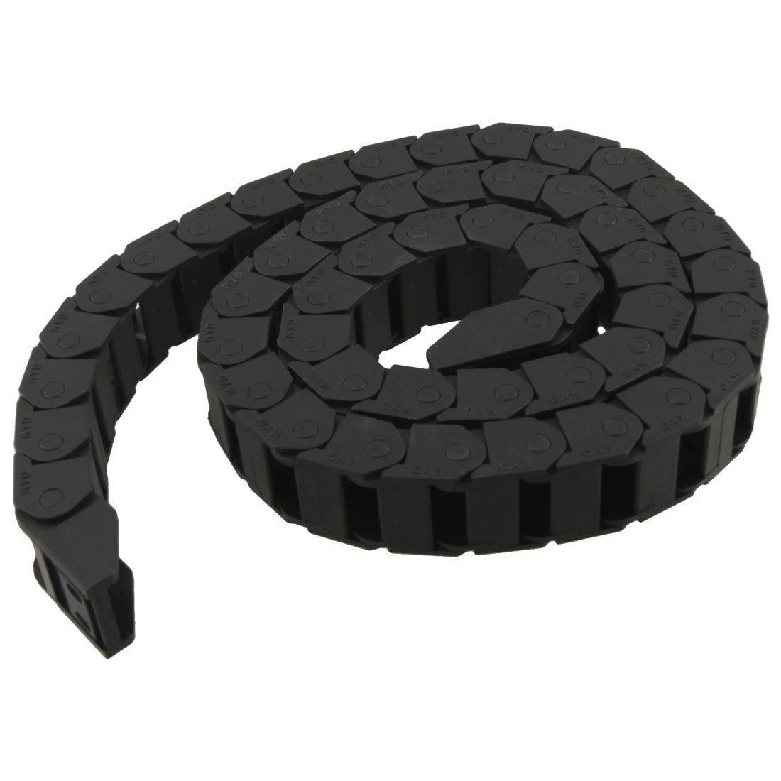 1M Plastic Open Type Towline Cable Carrier Drag Chain 15mm x 20mm