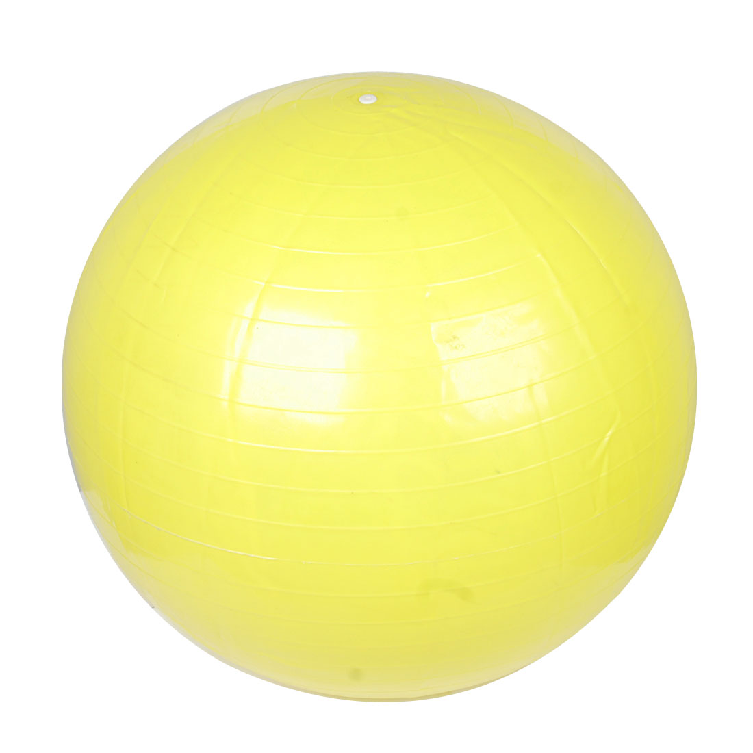 Yellow Rubber Massage Yoga Gym Body Exercise Fitness Ball