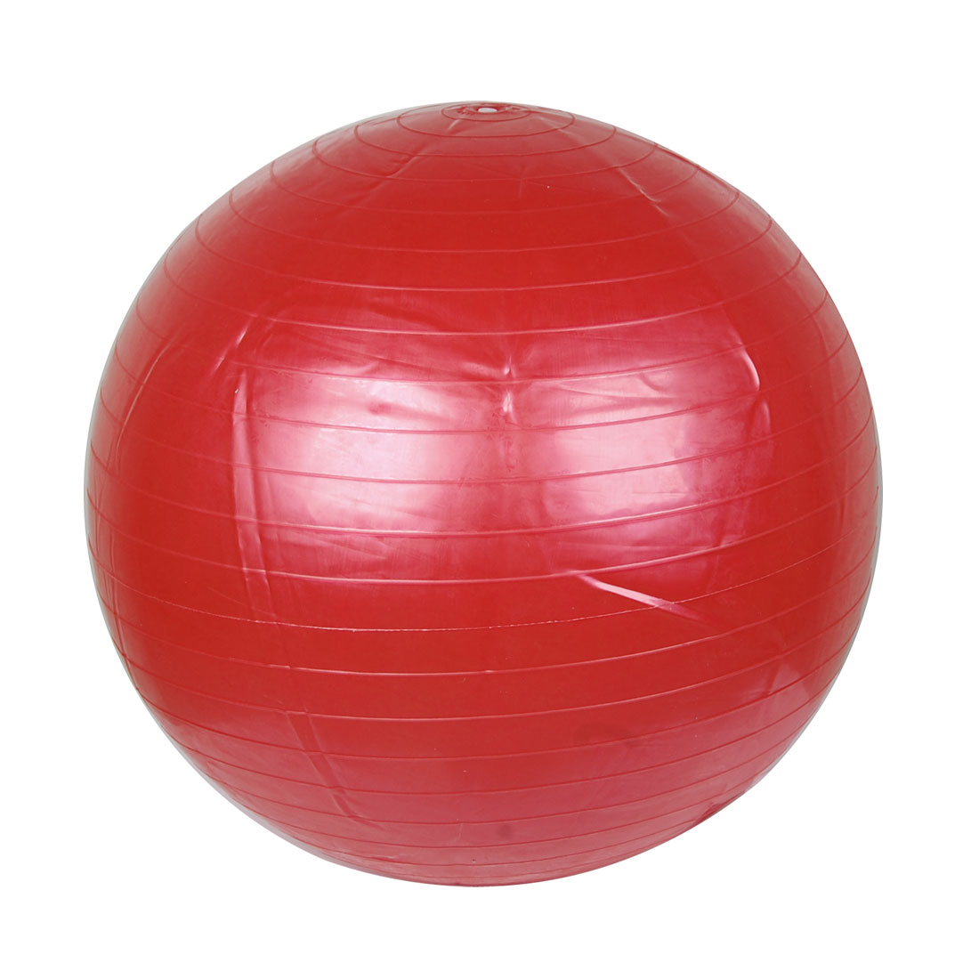 Red Rubber Inflatable Massage Yoga Gymnastics Body Exercise Fitness Ball