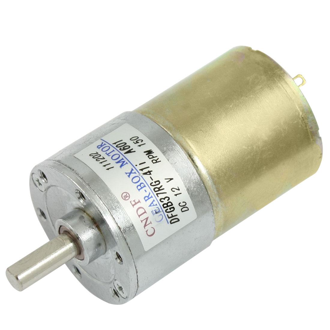 150RPM 160mA 12V DC 2.04kg.cm Torque 37mm Dia Magnetic Gear Box Motor