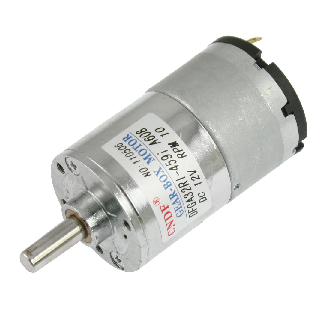DC 12V 50mA 10RPM 8.26Kg-cm High Torque Permanent Magnetic DC Gear Motor