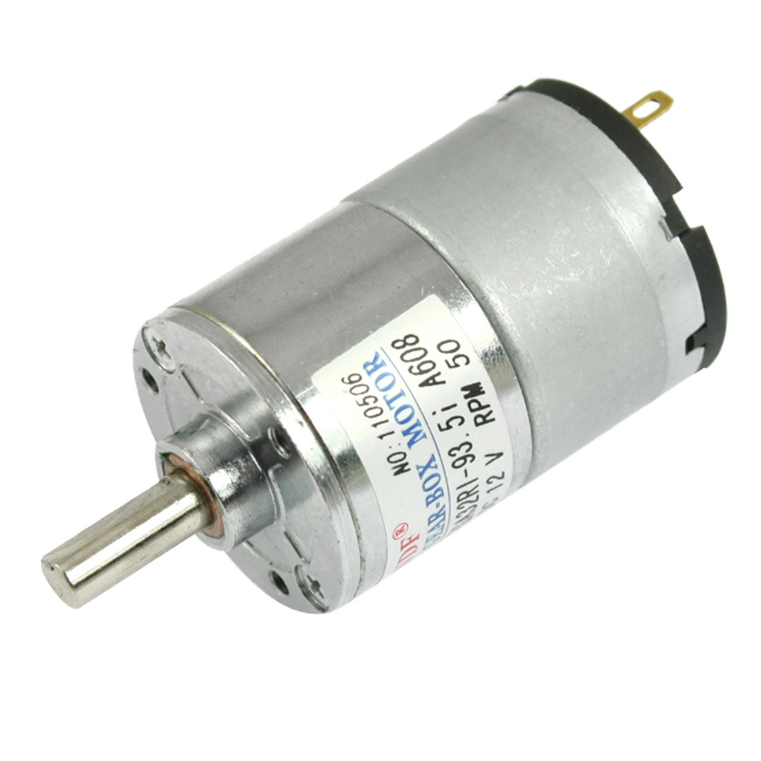 DC 12V 50mA 50RPM 2.3Kg-cm High Torque Permanent Magnetic DC Gear Motor